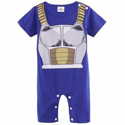 Dragon Ball Z Infant Vegeta Baby boy coslpay romper and costume for Toddler (Dragon Ball Z Baby Costume)