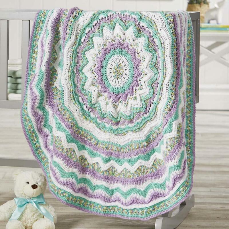 Herrschners® Bewildered Baby Blanket Yarn Kit