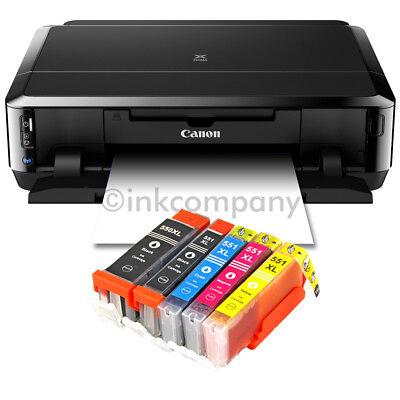 CANON Pixma IP7250 Tintenstrahldrucker DRUCKER FOTODRUCKER CD-BEDRUCK 5x XL