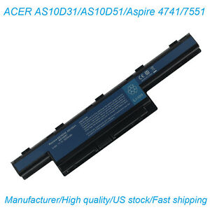 Battery for Acer Aspire 4743G 5250 5336 5741G  5742Z 5750Z 5750G 5755 7560 7741