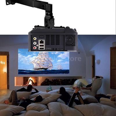 Universal Ceiling Wall Mount Bracket Hanger Holder f Tilt DLP LCD Projector P7J7