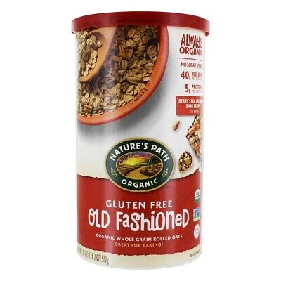 Nature's Path Organic - Organic Gluten Free Old Fashioned Whole Grain Rolled