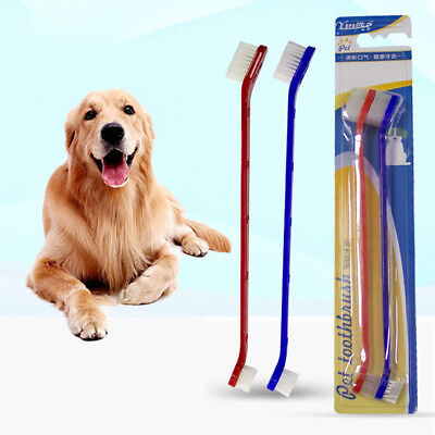 2PCS ​Dog Toothpaste Toothbrush Set​ For Healthy Natural Dental Hygiene Supply