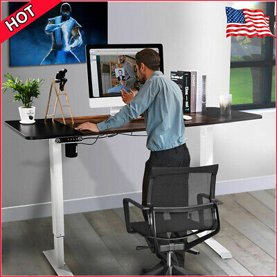 Height Adjustable Electric Standing Desk Frame for Home Office Table