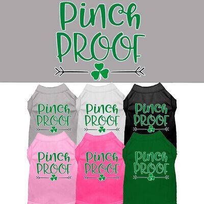Pinch Proof Dog Shirt Pet Clothing Apparel St. Patrick's Day ](Dog St Patrick's Day Clothes)