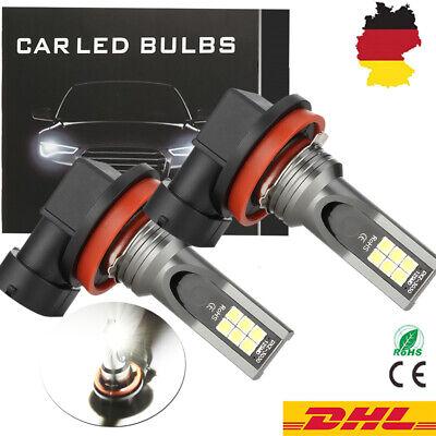 H11 LED 220W Nebel Scheinwerfer Birnen 26000LM Abblendlicht Tagfahrlicht 6000K