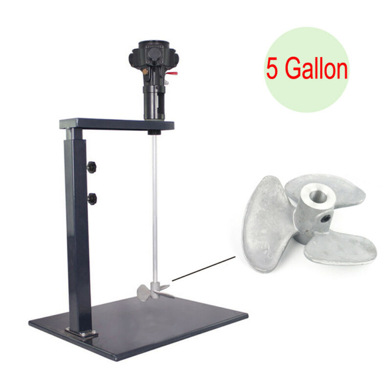 5 Gallon Pneumatic Paint Mixer Machine Ink Coating Mixing Tool Industry Sale