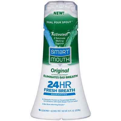 SmartMouth Original Activated Mouthwash, Clean Mint 16 oz
