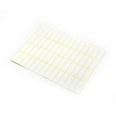 Self Adhesive Sticker White Label Writable Name Stickers Blank Paper Note Decals