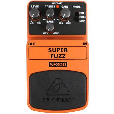 Behringer SF300 Super Fuzz Guitar Pedal