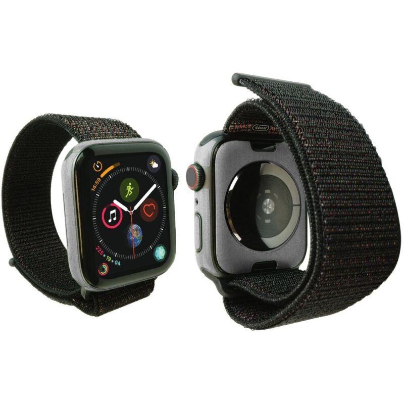 Skinomi (3-Pack) Brushed Aluminum Skins+Screens for Apple Watch 44mm Series 4
