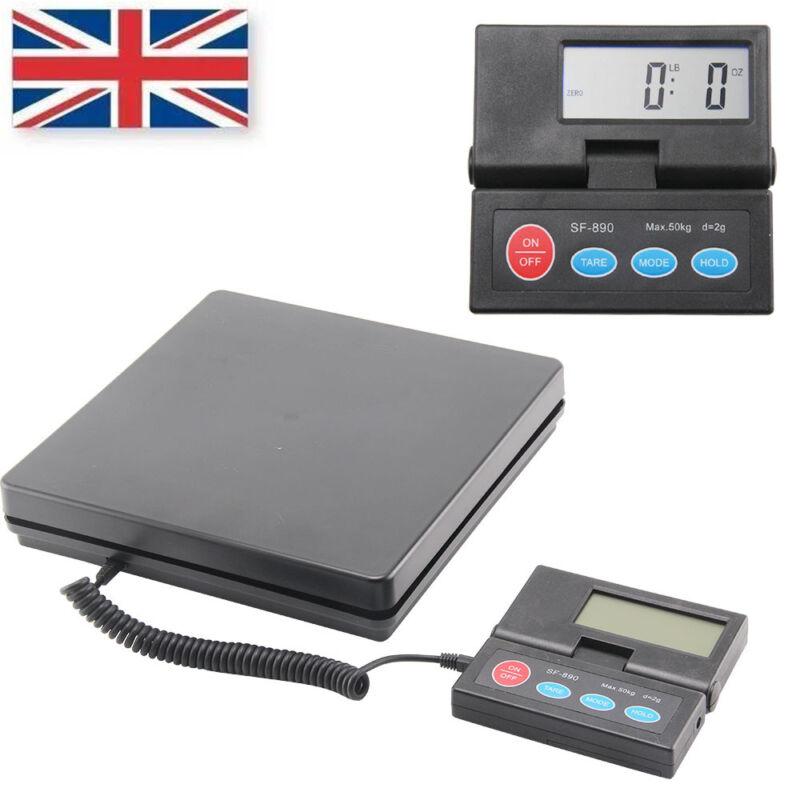 50KG 110lb Digital Postal Scale Kitchens Letter Parcels Weighing Platforms Scale