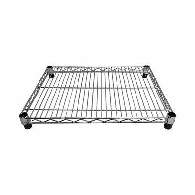 24l X 18w Metal Chrome Plated Wire Shelf Shelfing Rack Tier Layer Shelf