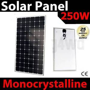 250w solar Panel caravan power battery charger 12v mono generator Wangara Wanneroo Area Preview