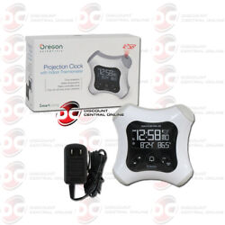 OREGON SCIENTIFIC RM330PA PROJECTION ALARM CLOCK WITH INDOOR THERMOMETER