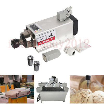 1.5kw Air Cooled Spindle Motor Er11 High Speed 24000rpm 220v For Cnc Engraving