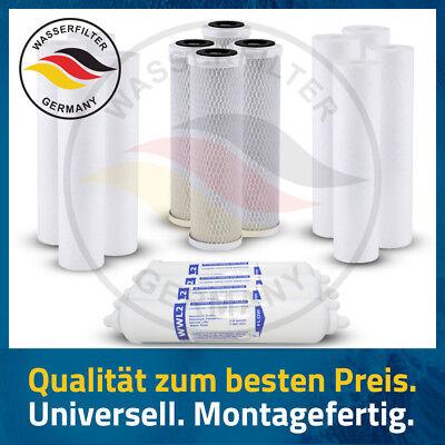 2 Ersatz-wasser-filter (Ersatz Wasserfilter Set 2 Jahre Umkehrosmose 5 Stufen Anlage Kartuschen Filter )