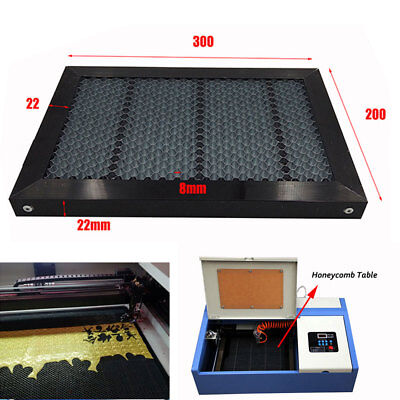 Laser Honeycomb 300200mm Working Table Galvanized Steel 12x8 Co2 Engraving