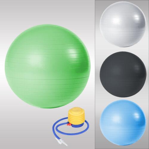 Gymnastikball inkl Pumpe Büroball Antiburst Rücken bis 300kg Balancetraining