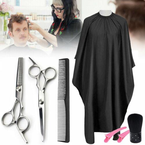 5PC Professional Barber Hair Cutting Salon Thinning Scissors