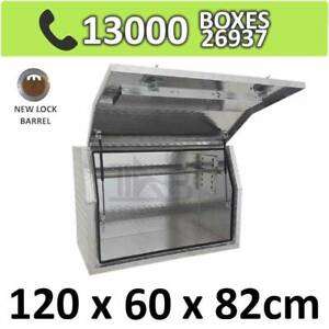 Aluminium Side Full Opening Toolbox Truck Ute Trailer Box 1268FD