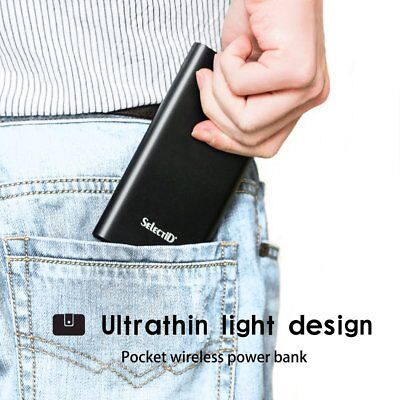 20000mAh Quick Charge Power Bank QC3.0 USB TYPE-C External Battery Charging Pack