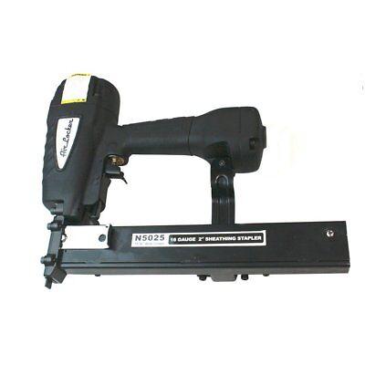 Agt N5025 Air Locker Sheathing And Fencing Stapler 2 16 Gauge Wide Crown