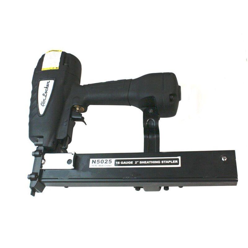 """AGT N5025 Air Locker Sheathing and Fencing Stapler 2"""", 16 Gauge Wide Crown"""