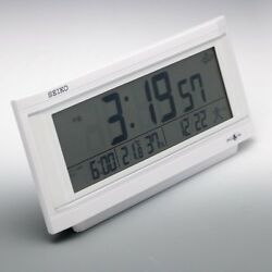Seiko Space link GPS Clock GP501W Table Clock F/S