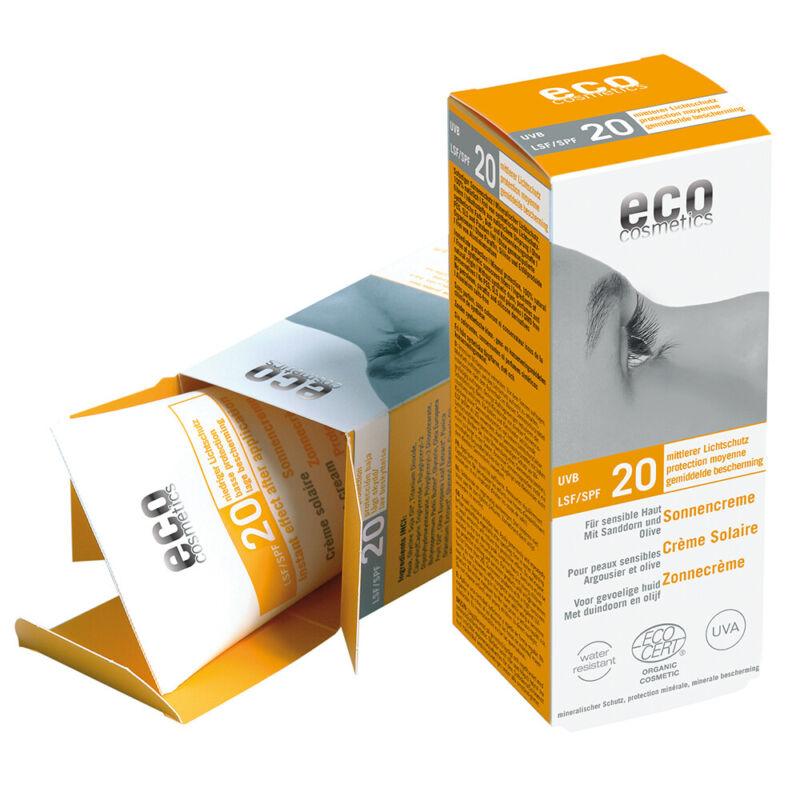 Eco Cosmetics Naturkosmetik Sonnencreme LSF20 75ml