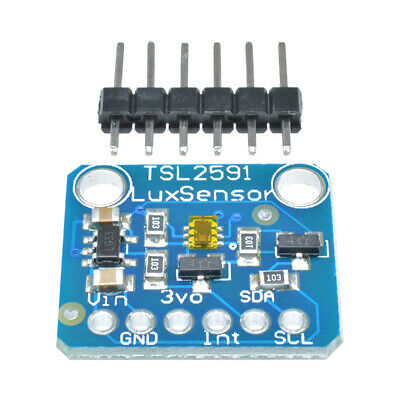 Dynamic Range Sensor (TSL2591 High Dynamic Measuring Range Digital I2C IIC Light Sensor Module)