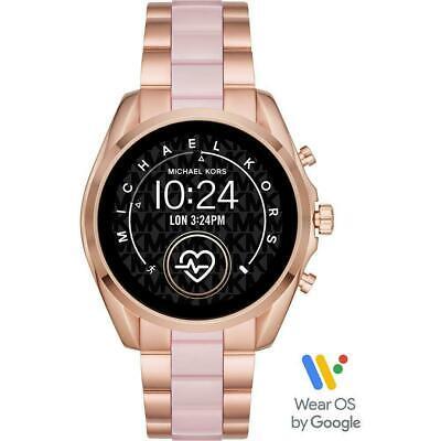 Michael Kors Access Bradshaw Rose Gold & Blush Smart Touchscreen Watch MKT5090