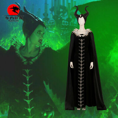 Sleeping Beauty Witch Costume (Sleeping Beauty Maleficent Cosplay Costumes Witch Dress Clothing Women)