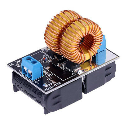 - 5V-12V Low Voltage ZVS Induction Heating Power Supply Module + Heater Coil DT