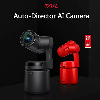 OBSBOT Tail Gesture Control CMOS Zoom 4K 12MP 3-Axis Gimbal Action AI Camera