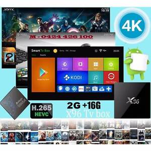 Best selling android tv box x96 2gb / 16gb s905x 4k kodi wifi Noble Park Greater Dandenong Preview
