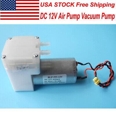 Us Stock 12v Aquarium Air Pump Aspirator Vacuum Pump Diaphragm Pump Breast Pump