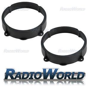 Alfa Romeo 147 Speaker Adaptor Rings Front Rear Doors 6.5