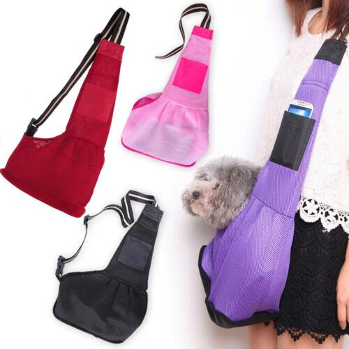 Pet Dog Cat Puppy Carrier Single Shoulder Sling Bag Strap Tr