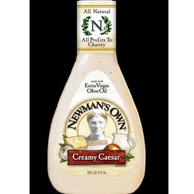 - Newman's Own-Creamy Caesar Dressing (6-16 oz bottles)