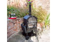 New Outdoor Charcoal Barbecue Pizza Oven