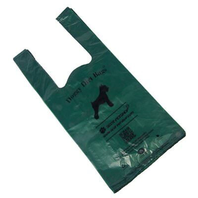 Scot-Petshop Original 500 Eco Friendly Large Green Dog Poo Scoop Bags Waste Bags