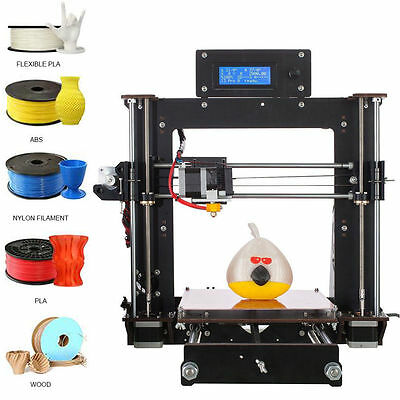 2017 Upgraded Full Quality High Precision Reprap Prusa i3 DIY 3d Printer7