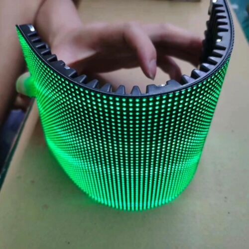 Flexible LED Module Full Color Curved Soft LED Display Module 128x256mm
