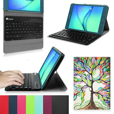 For Samsung Galaxy Tab A 8-Inch Tablet SM-T350 Bluetooth Keyboard Case Cover