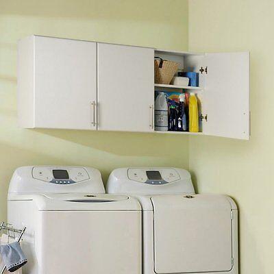 Prepac Elite 54 in. 3 Door Wall Storage Cabinet, White