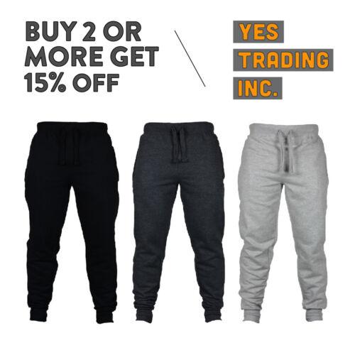 Vision Mens Casual Sweatpants Slim-fit Joggers Fleece Pants Harem Hip Hop Dance