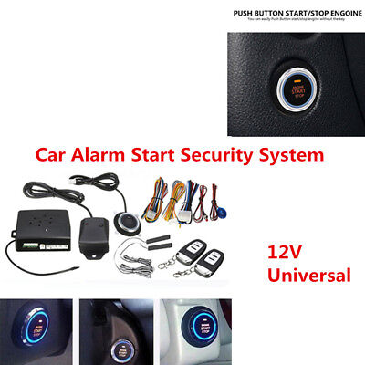 Reliable RFID Car Entry Security System Keyless Start Stop Push Button Remote