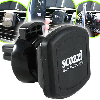 scozzi 360° universal KFZ Magnet-Lüftungs-Halterung Auto Handy Halter Smartphone