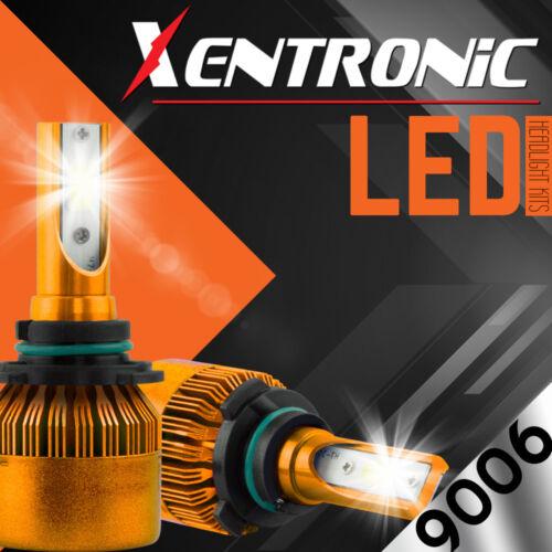 XENTRONIC LED HID Headlight kit 9006 White for 2001-2006 GMC Sierra 1500 HD